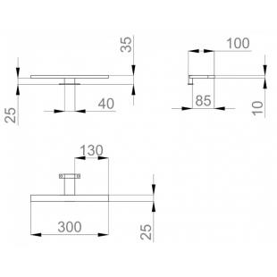 "Светильник Sanwerk LED ""SMART"" AL 30 см LV0000113"