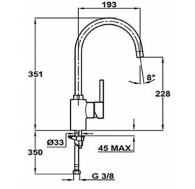 Смеситель для кухни Teka ARK 915 (Alaior-XL H) 239151210