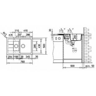 Кухонная мойка Teka ASTRAL 60 B-TG 40143571