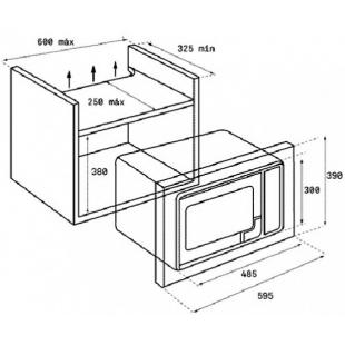 Микроволновая печь встраиваемая Teka MB 620 BI 40584001
