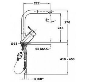 Смеситель для кухни Teka Elan HP (MW) 35931802