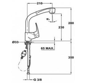 Смеситель для кухни Teka MB2 HP 40931802