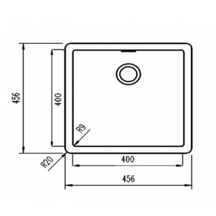 Кухонная мойка Teka Radea 400/400 TG 40143801