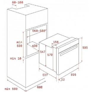 Электрический духовой шкаф Teka HRB 6300 VN 111010012