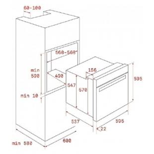 Электрический духовой шкаф Teka HRB 6400 AT 111010014