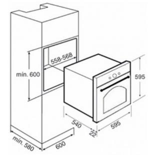 Электрический духовой шкаф Teka HR 750 41564013