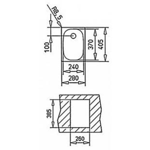 Кухонная мойка Teka Universal E 1B 10132001