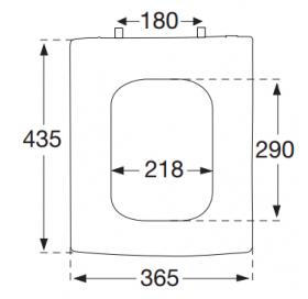 Сиденье для с унитаза VILLEROY & BOCH  MOMENTO SoftClose 9M17S1R1