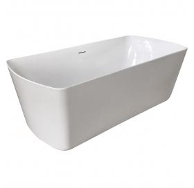 Ванна отдельно стоящая VOLLE 1800*850*610 мм акриловая с сифоном, 12-22-804