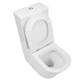 Унитаз безободковый VOLLE NEMO Rimless Компакт, сиденье Slim slow-closing, 13-17-377