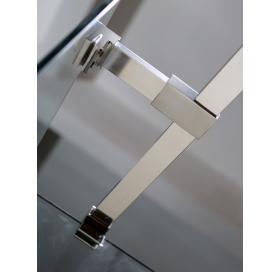 Держатель стекла VOLLE (E) с креплениями длиной 100 мм, 18-05E-10