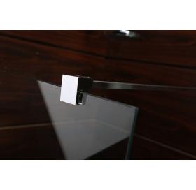 Держатель стекла VOLLE (D) с креплениями длиной 900 мм, 18-05D-90