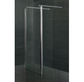 Стенка для душа с подвижным профилем VOLLE WALK-IN 350*1900 мм безопасное стекло, 18-09-35