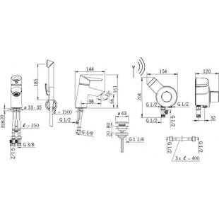 Смеситель смеситель для умывальника Oras Optima2703F