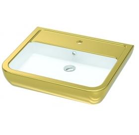 Умывальник Idevit Halley 3201-0455-11 Gold 60 см