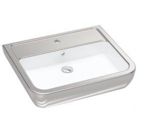 Умывальник Idevit Halley 3201-0455-12 Silver 60 см