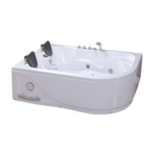 Ванна IRIS TLP-631L угловая левая с гидромассажем 180*120*66 см