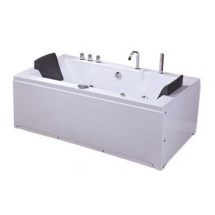 Ванна IRIS TLP-658 прямоугольная  с гидро и аэромассажем 180*90*76 см
