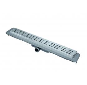 Трап NOVA 5084 70х700 с решеткой из нержавеющей стали