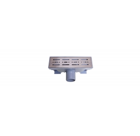 Трап NOVA 5070 70x200 с решеткой из нержавеющей стали
