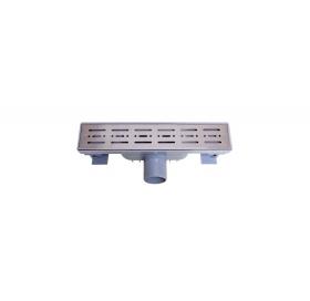 Трап NOVA 5071 70х300 с решеткой из нержавеющей стали