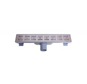 Трап NOVA 5072 70х400 с решеткой из нержавеющей стали