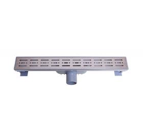 Трап NOVA 5073 70х500 с решеткой из нержавеющей стали