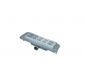 Трап NOVA 5081 70х400 с решеткой из нержавеющей стали