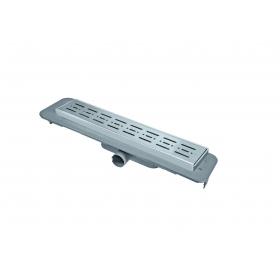 Трап NOVA 5082 70х500 с решеткой из нержавеющей стали