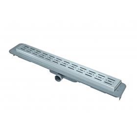 Трап NOVA 5083 70х600 с решеткой из нержавеющей стали