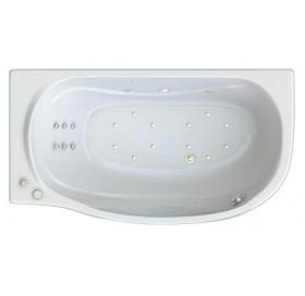 Ванна Triton Милена правая 1700х960х620 (ванна+каркас+лицевой экран+слив-перелив..