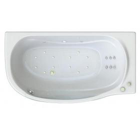 Ванна Triton Милена Левая 1700х960х620 (ванна+каркас+лицевой экран+слив-перелив)..