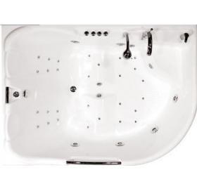 Гидромассажная ванна Triton Респект правая 1800х1300х750 (гидро+спинной)