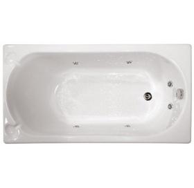 Гидромассажная ванна Triton Лу-лу 1300х700х575  (гидро+спинной)