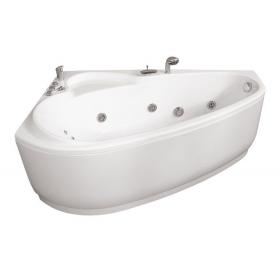 Гидромассажная ванна Triton Пеарл-Шелл правая 1600х1040х605 (гидро+спинной)