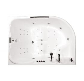 Ванна Triton Респект правая 1800х1300х750 асимметричная (ванна+каркас+лицевой эк..