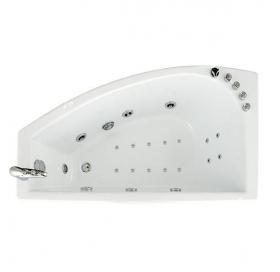 Гидроаэромассажная ванна Triton Бэлла правая 1400х750х600 (гидро+спинной+аэро)
