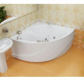 Ванна Triton Эрика 1400х1400х640 симметричная (ванна+каркас+лицевой экран+слив-перелив)