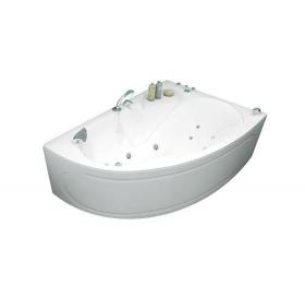 Ванна Triton Изабель правая1700х1000х630 асимметричная (ванна+каркас+лицевой экр..