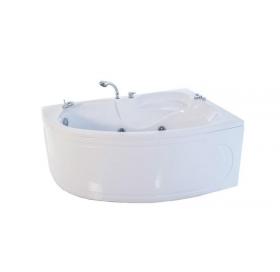 Гидроаэромассажная ванна Triton Кайли левая 1500х1000х630 (гидро+спинной+аэро)