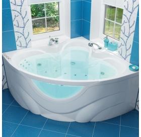 Ванна Triton Виктория 1500х1500х670 симметричная (ванна+каркас+лицевой экран+сли..
