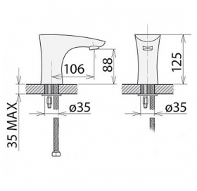 Смеситель Welle электронный, 16V16S0
