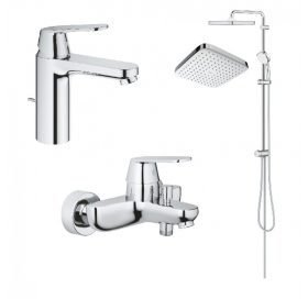 Набор смесителей для ванны и душа GROHE Eurosmart Cosmopolitan 126112R