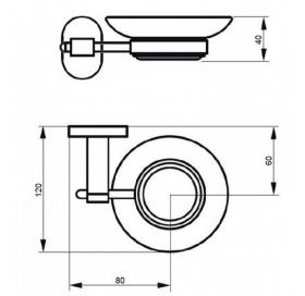 Мыльница Q-tap Liberty CRM 1159