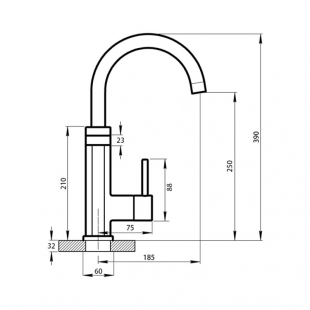Монокран с электронагревом Q-tap Elterna CRW 337