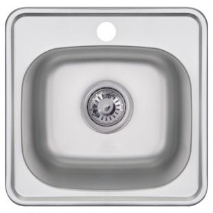 Кухонная мойка Imperial 3838 Decor квадратная, IMP383806DEC