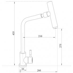 Смеситель для кухни Imperial, 31-107-32
