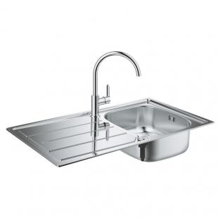 Кухонная мойка GroheEXSinkK200+ смесительBauEdge (31562SD0)