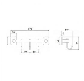 Крючок Q-tap Liberty ANT 1154-3