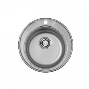 ULA 7104 ZS Satin Кухонная мойка, ULA7104SAT08